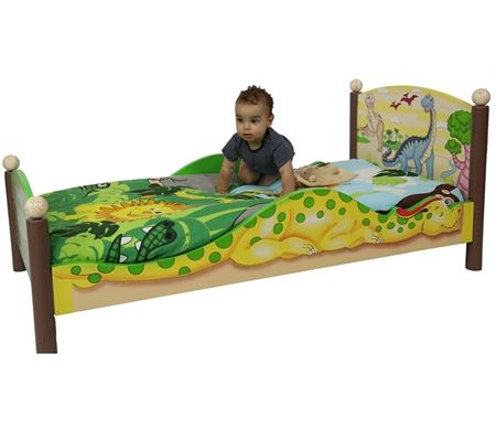 hot sale online 8bd09 7d001 Dinosaur Toddler Bed   Isaac bedroom   Dinosaur toddler ...