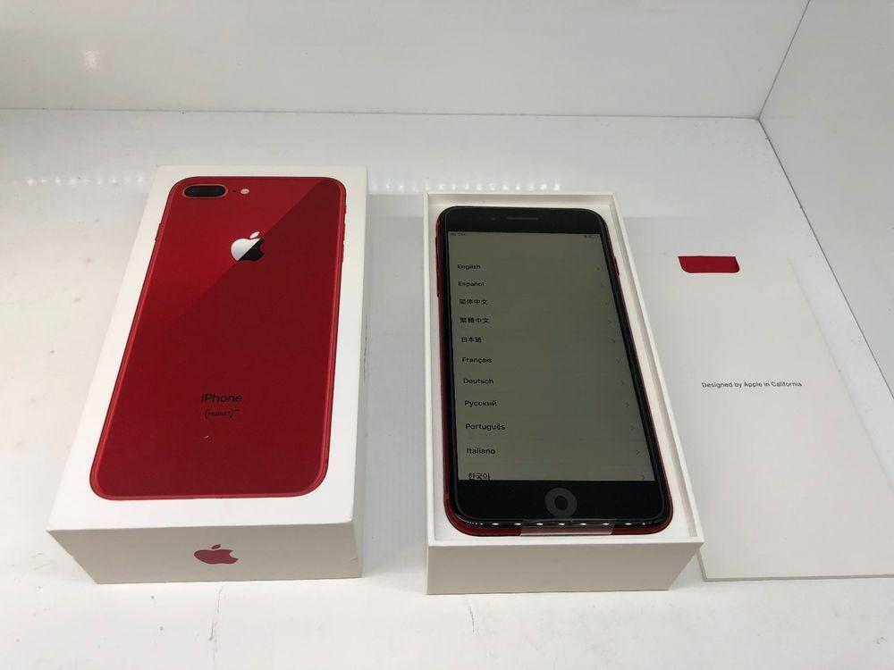 Apple Iphone 8 Plus Red 64gb Verizon A1864 Apple Warranty