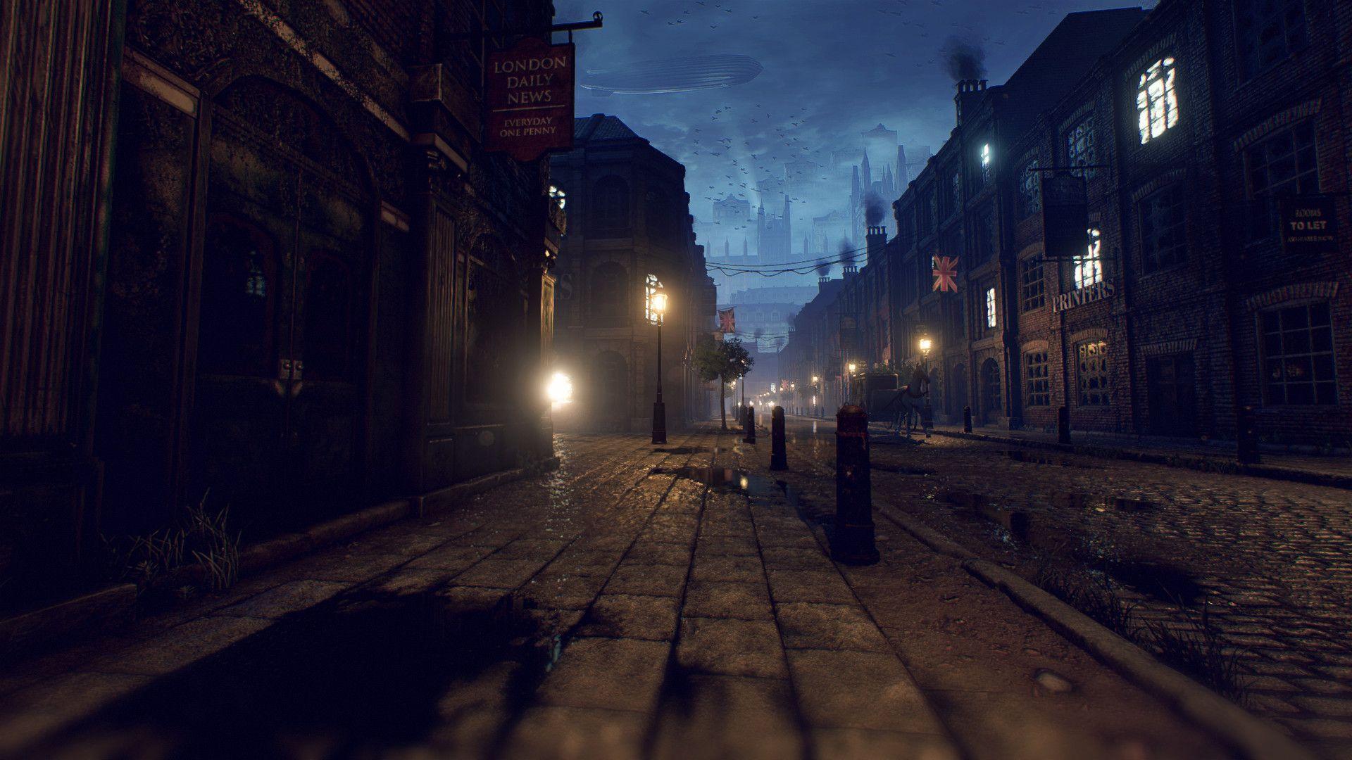 ArtStation - Unreal Engine 4 - Victorian London Environment