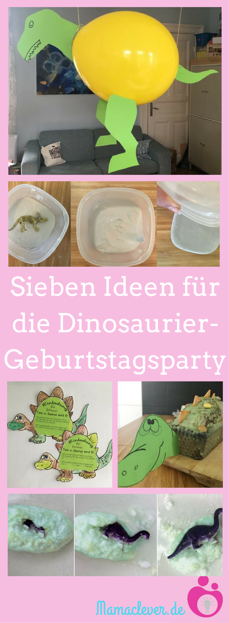 Photo of Ideen für eine Dinosaurierkindergeburtstagsfeier