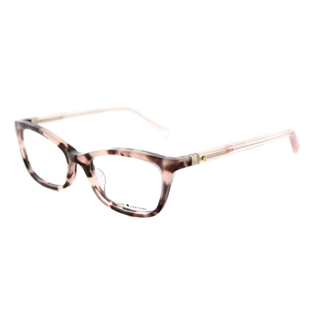 Kate Spade Women\'s KS Delacy RS3 Havana Rose 52mm Cat-Eye Eyeglasses ...