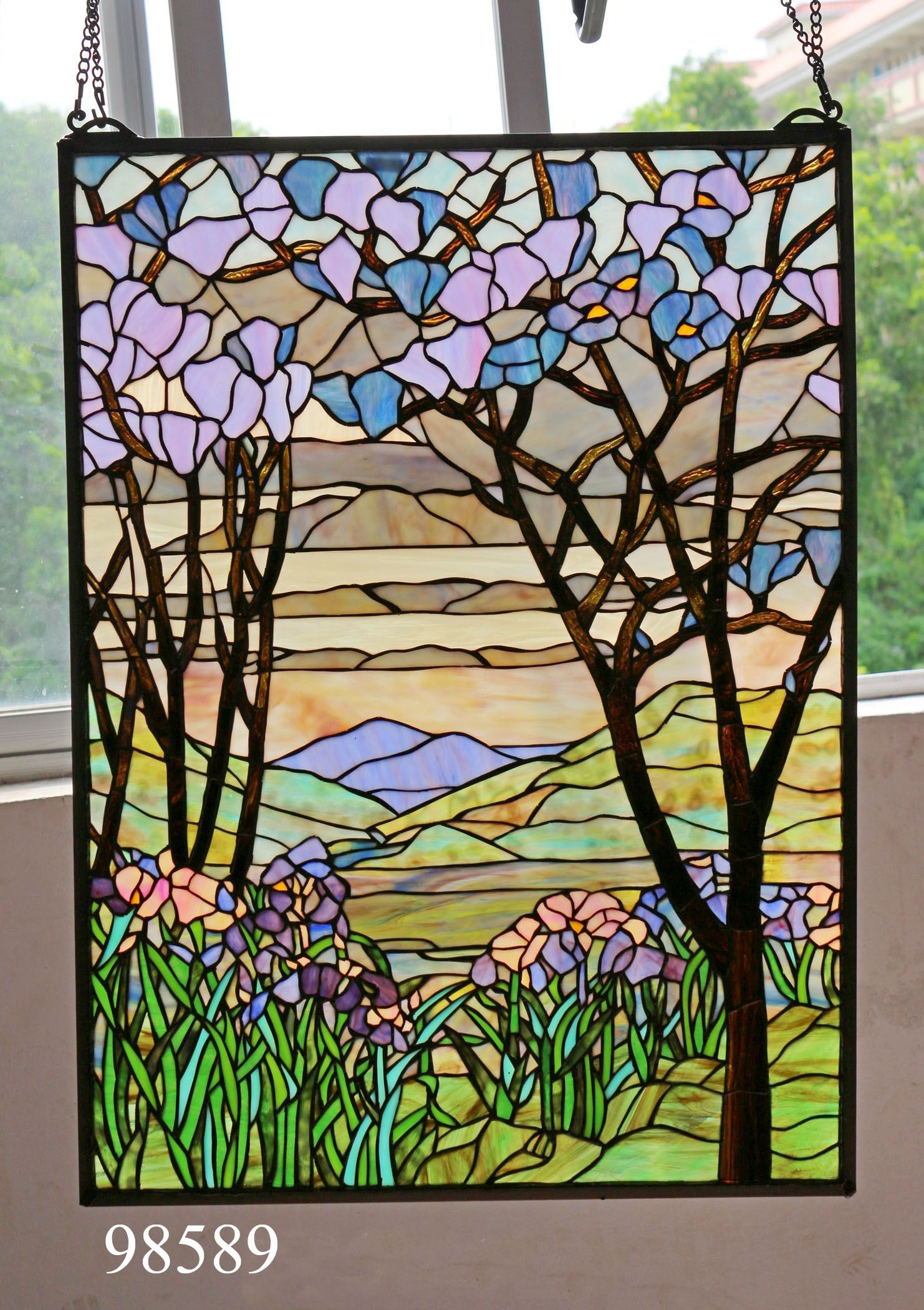 Stained Glass Hanging Window Panels Stained Glass Pinterest Glass