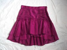 DIANE VON FURSTENBERG RUNWAY SILK BLEND SUMMER FUN COLOR POP! MIRITA SKIRT NWT 4