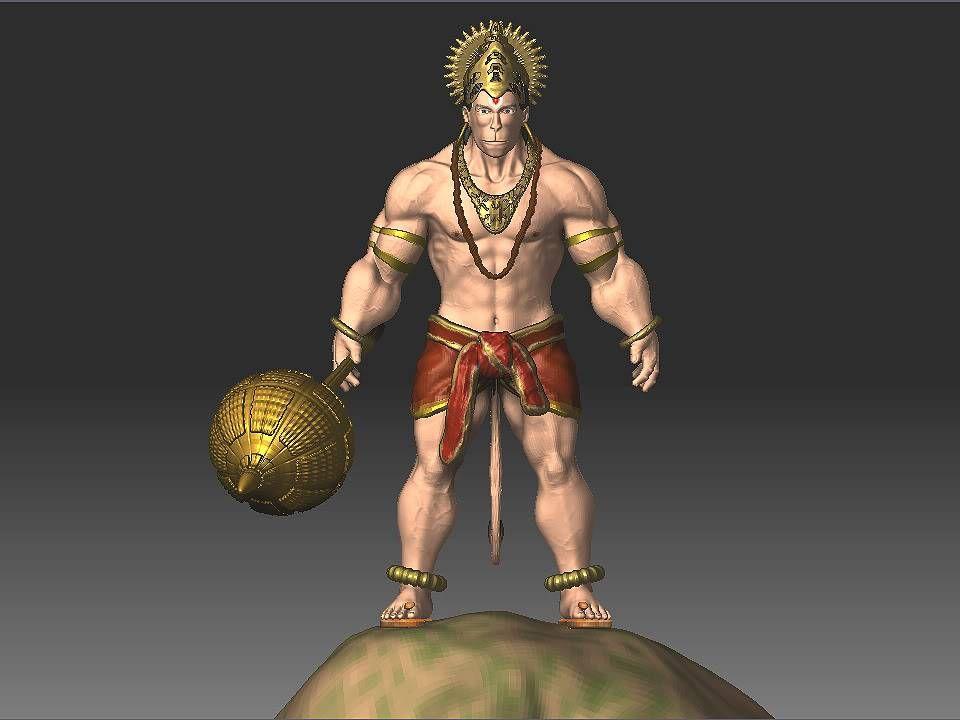 3d wallpapers lord hanuman