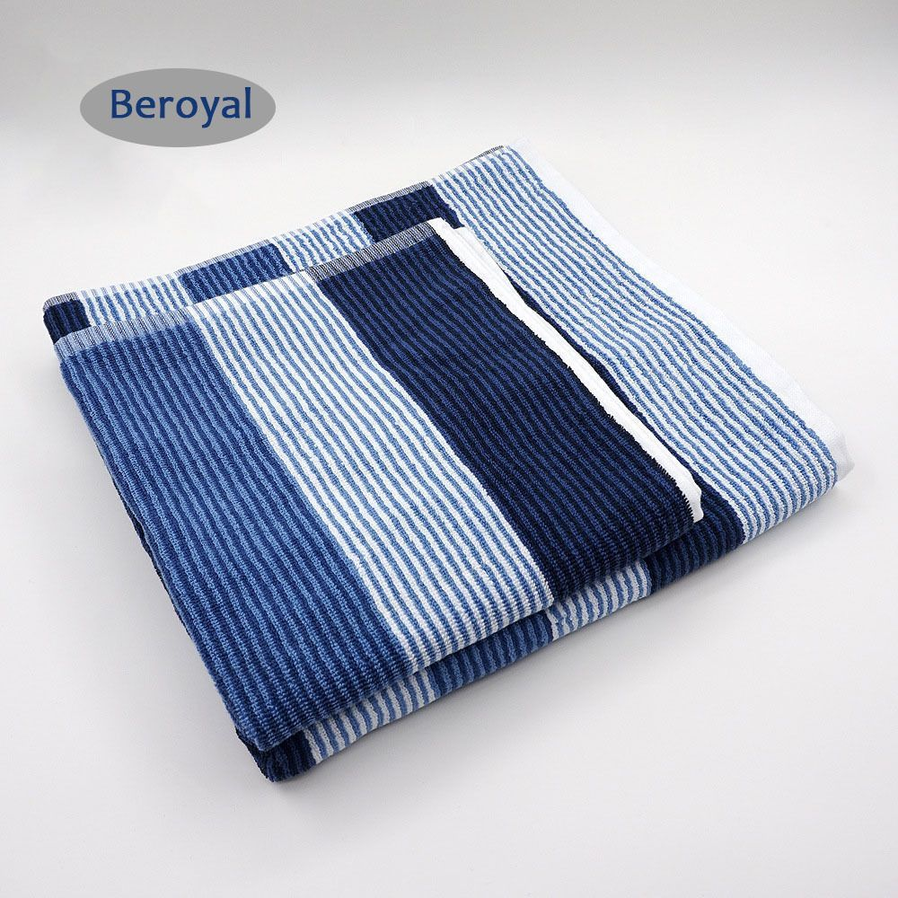 100 Cotton European Style Hand Towels Bath Towels Set Beach Towel With Loop Beroyal With Images Towel Towel Set Bath Towel Sets