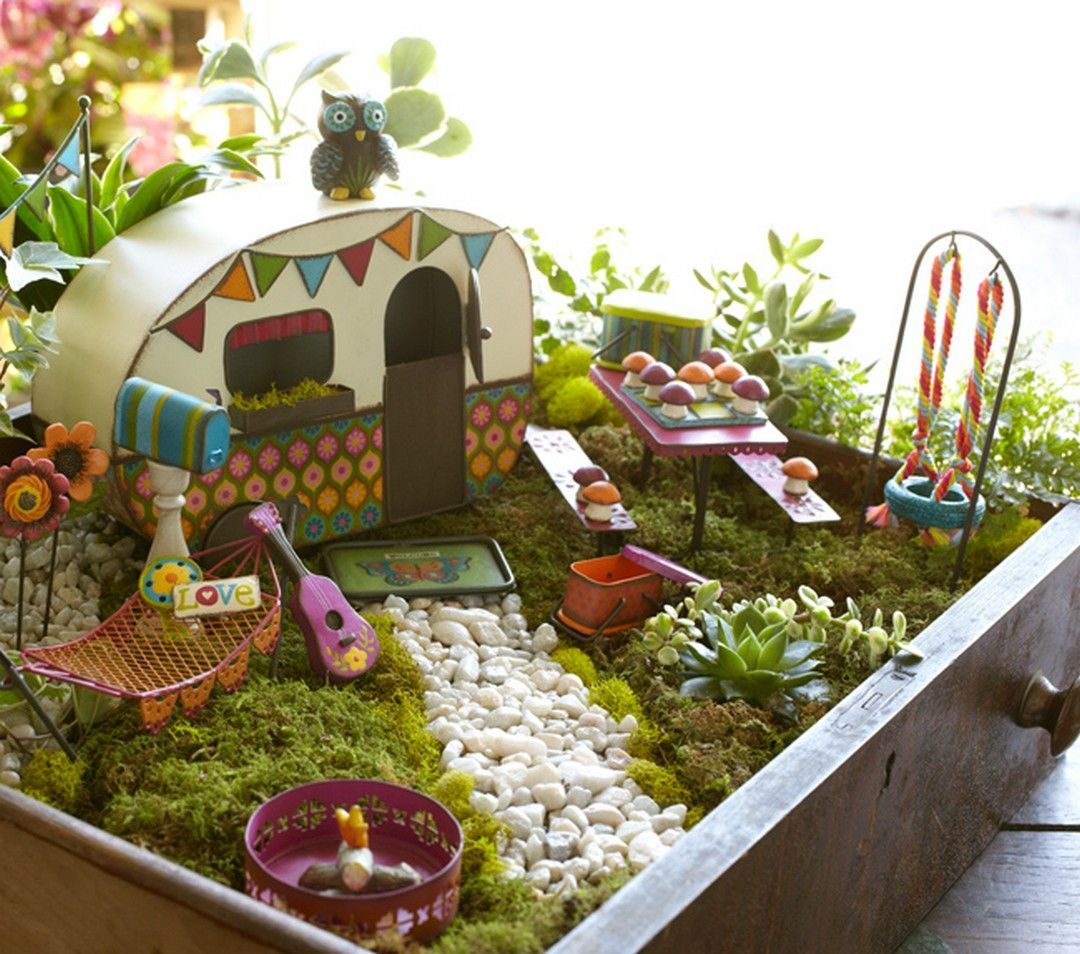 Diy garden ideas pinterest  cool  Magical and Best Plants DIY Fairy Garden Ideas