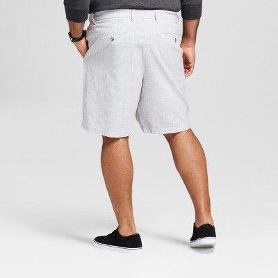 Goodfellow /& Co Mens Big /& Tall 10.5 Linden Flat Front Chino Shorts