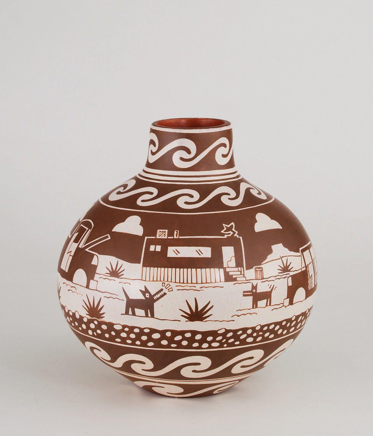 Diego Romero Cartoonist In Clay Art Education Native American Pottery Art Teacher