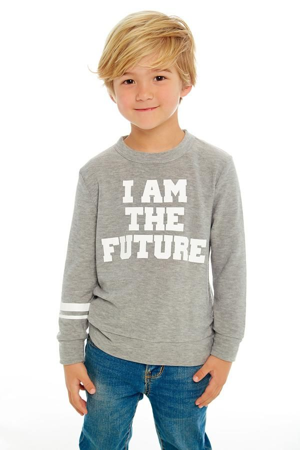 I Am The Future in 2021 | Boy haircuts long, Toddler ...
