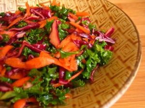 Kale, Cabbage, and Carrot Salad. I've been meaning to make this!!!
