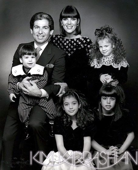 kardashians christmas cards over the years pictures naughty and nice usmagazinecom - Kardashians Christmas Photos