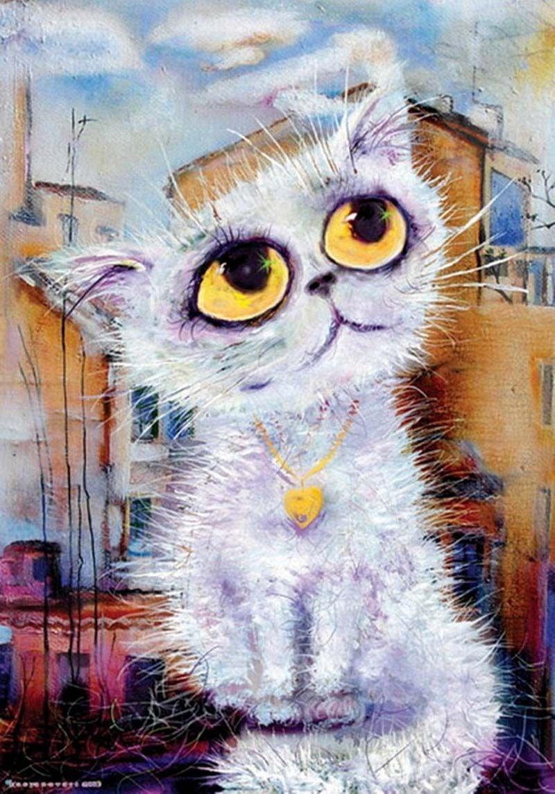 Прикольные кошки рисованные картинки