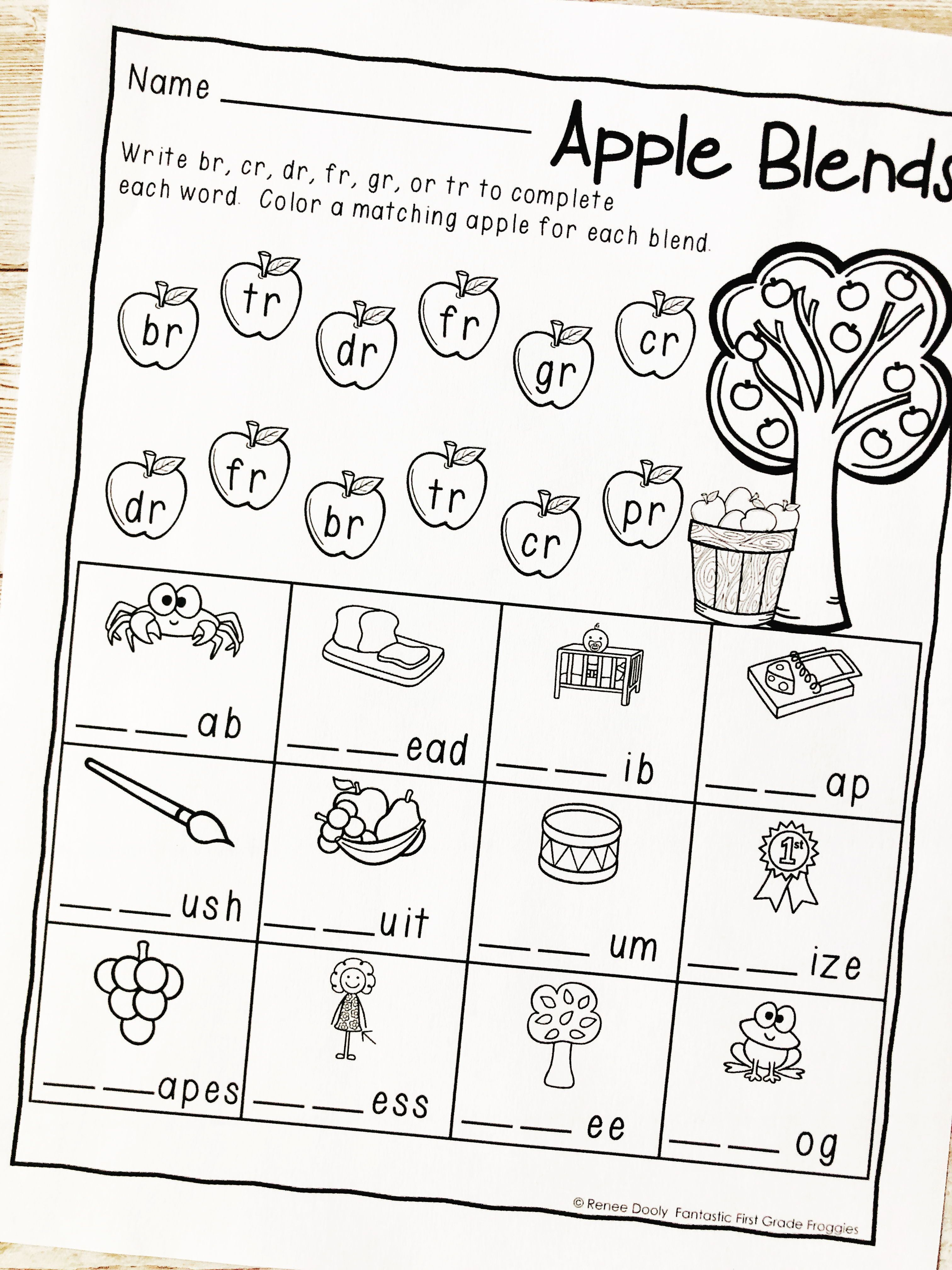 hight resolution of September NO PREP Resources   First grade math