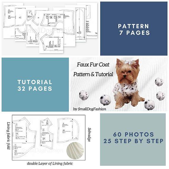 Small dog clothes Dog dress PDF dog clothes Pattern dog dress Small ...