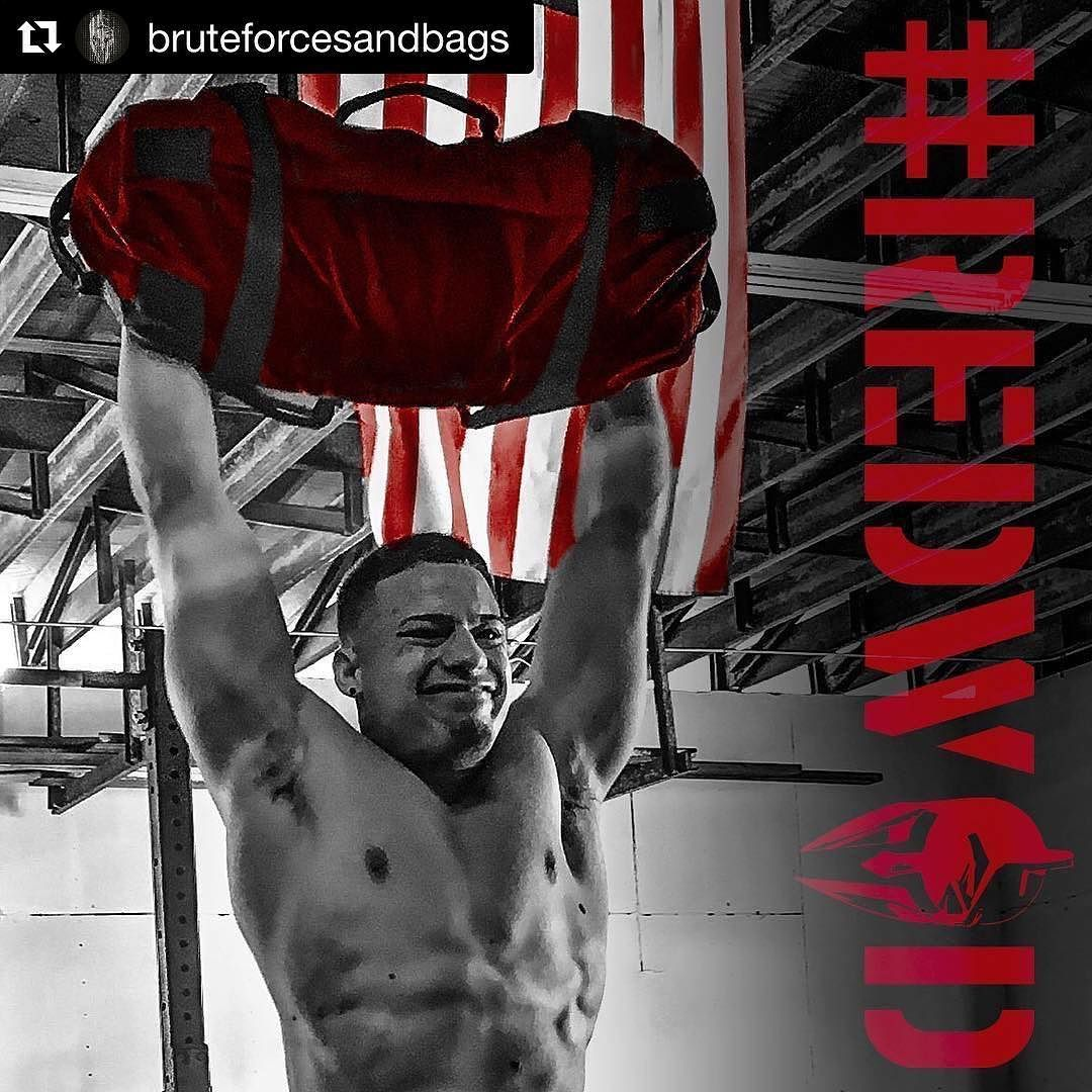 Repost Bruteforcesandbags Redwod 10 6 17 Read Why And Do The Workout 20 Min Alternating Minutes Odd Min 1 5 Brute Force Burpees Even Min 2 10
