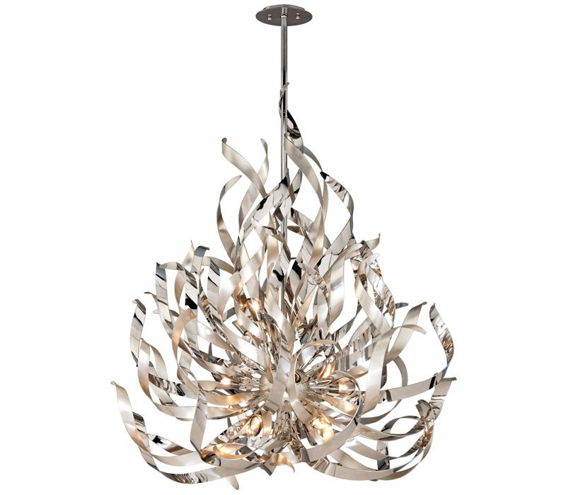chandelier lighting french riv suspension by corbett chandeliers riviera inspired