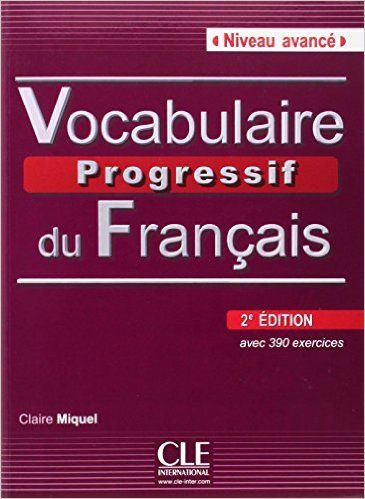 Amazon Fr Vocabulaire Progressif Du Francais 2e Edition