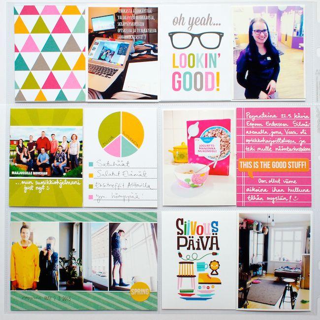 Paperikaramelli: Project Life / May 2015
