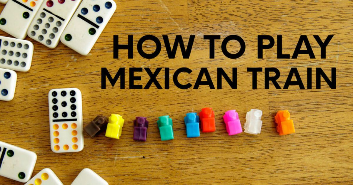 HOW TO PLAY MEXICAN TRAIN in 2020 How to play dominoes