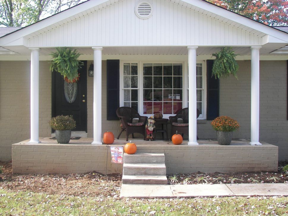 Home Design 9 Front Porch Ideas For Small Houses House Plans Latest Deck On Ranch Exterior Inspiring Facade Small Front Porches House With Porch Porch Remodel