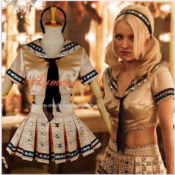 Babydoll Costume Adult Sucker Punch Baby Doll Cosplay Fancy Dress
