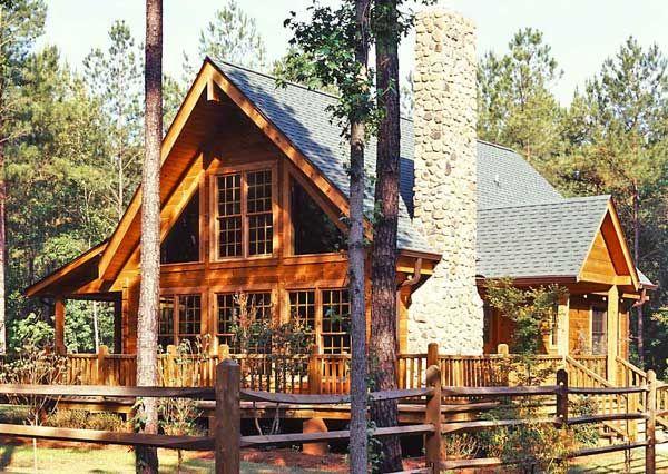 Log Home Living\'s 10 Favorite Small Log Cabins | Log cabins, Cabin ...