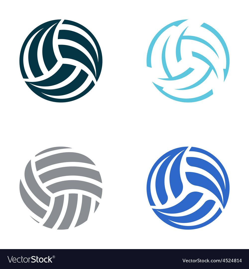Volleyball Balls Royalty Free Vector Image Vectorstock Sponsored Royalty Balls Volleybal Volleyball Clipart Volleyball Tattoos Volleyball Silhouette