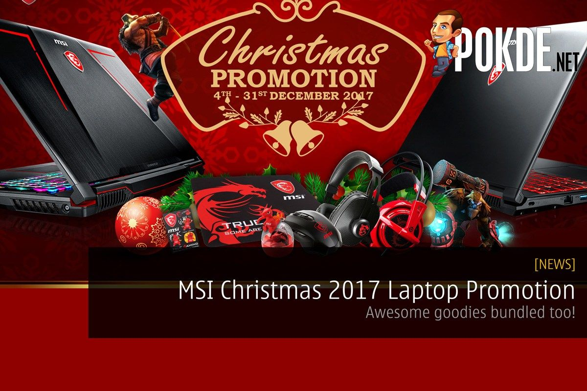 54324a850fa6 Celebrate this Christmas with deals on MSI laptops! Share this  Facebook  Twitter Google Tumblr