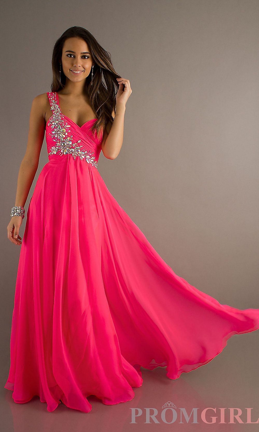 Pink floor length one shoulder bridesmaid dress shelby stuff