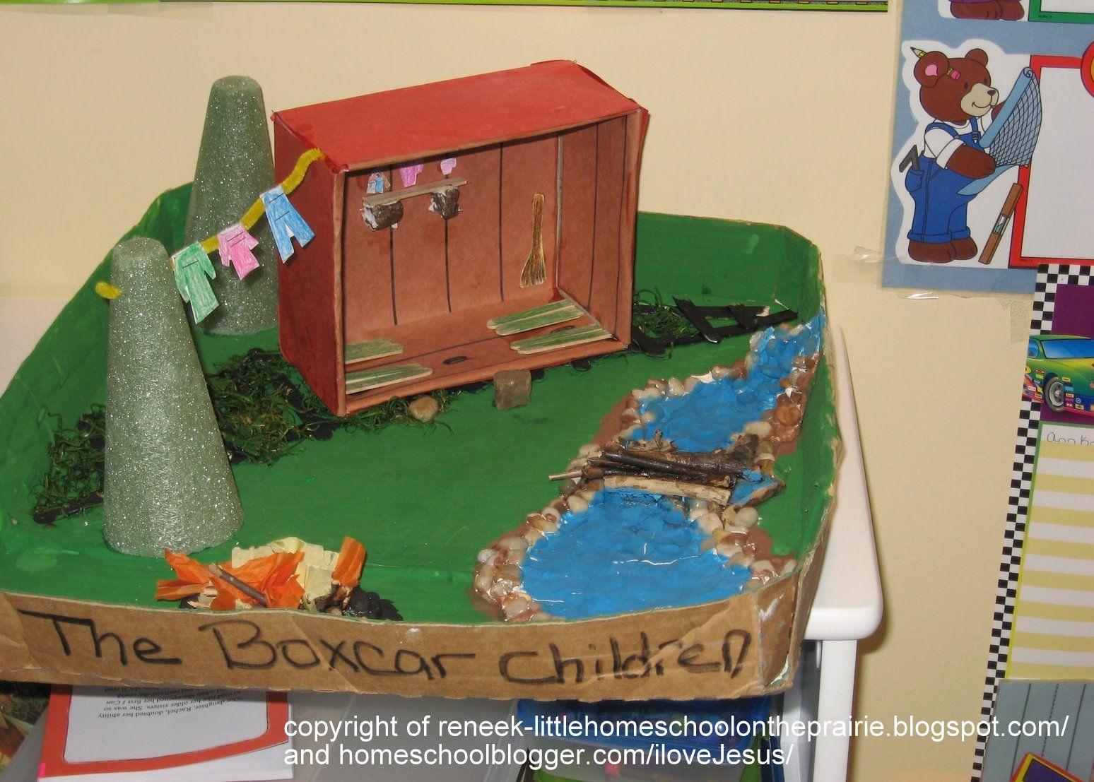 Kids Diorama With Details: Boxcar Children Craft