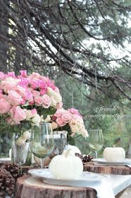 FRENCH COUNTRY COTTAGE: Woodland Table