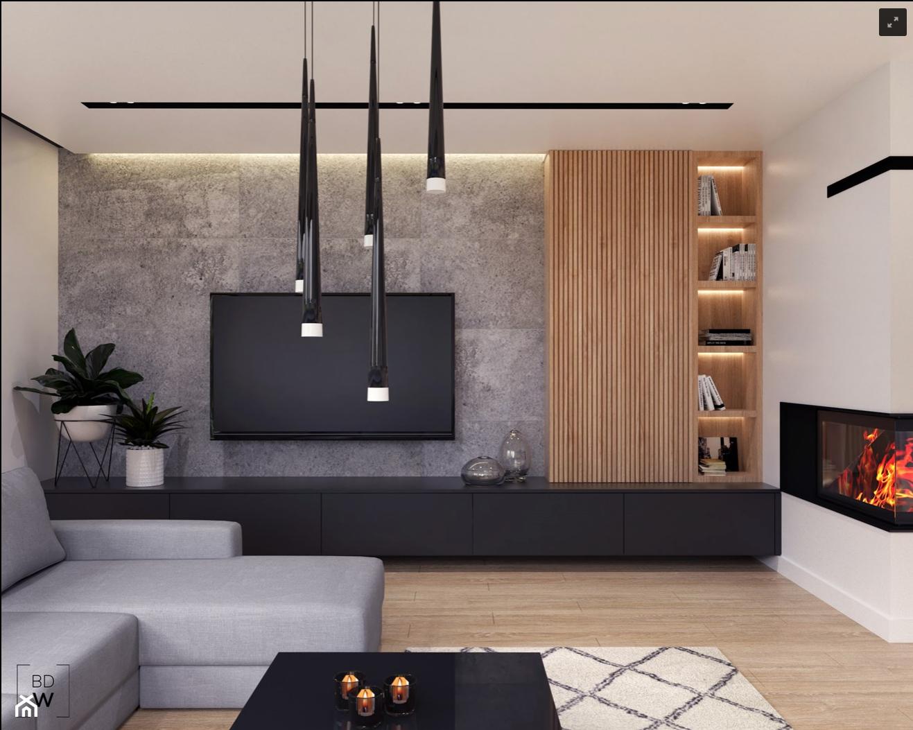 Ladna Sciana Medialna Living Room Design Modern Tv Room Design Living Room Decor Apartment