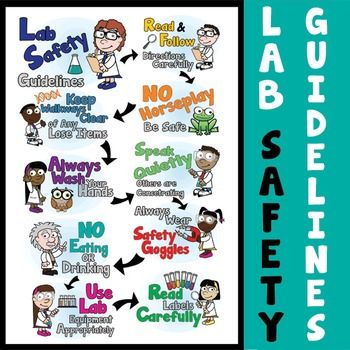 LAB SAFETY POSTERS -Grab your students attention with these FREE ...