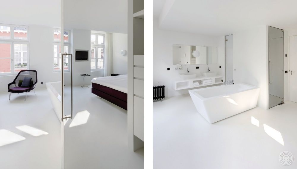 Gietvloer woonkamer voor en nadelen ervaringen coating