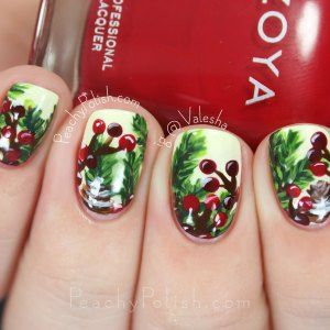 Merry Christmas Eve!: Christmas Nail Art