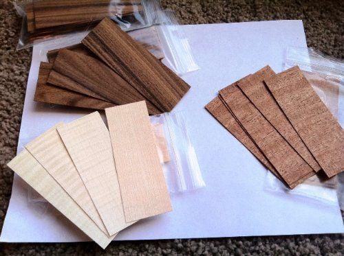FINGERBOARDS  wood veneer