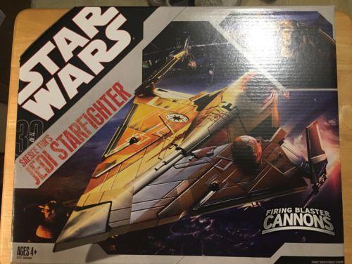 Starwars Star Wars 30th Anniversary Seasee Tiin S Jedi Starfighter Star Wars Starfighter Star Wars Toys Star Wars Figures