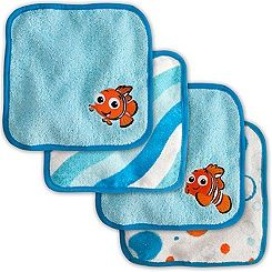 Finding Nemo Washcloth Set For Baby