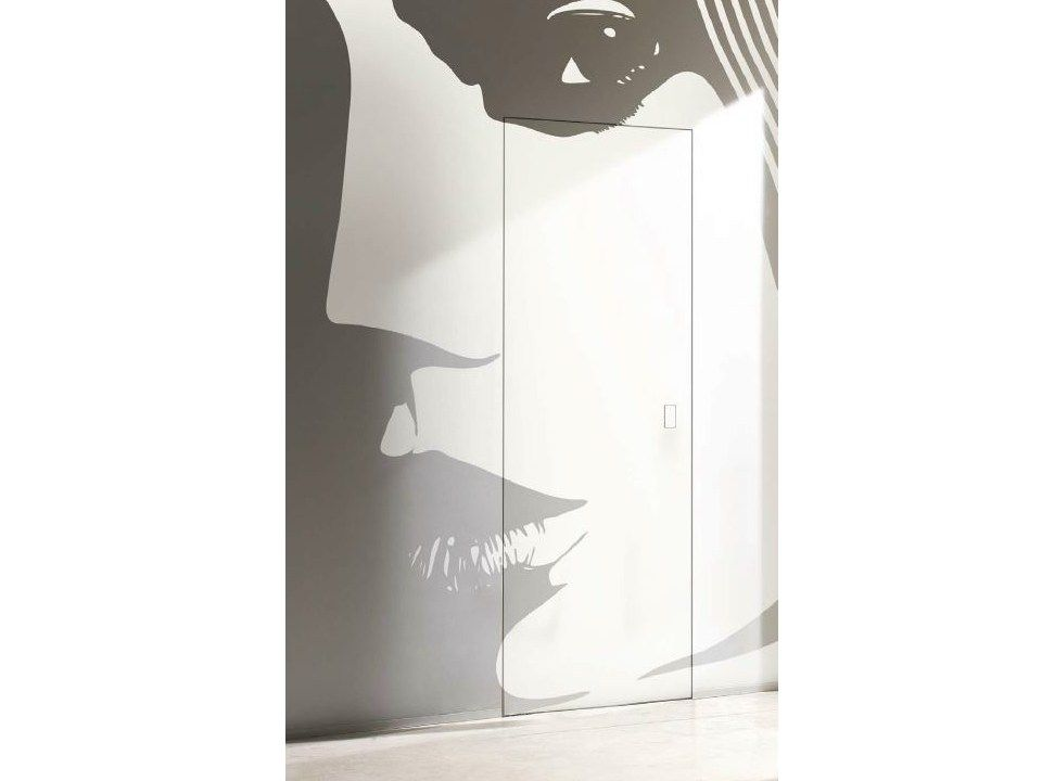 Porta a battente a filo muro secret2 by barausse doors - Porta filo muro prezzo ...
