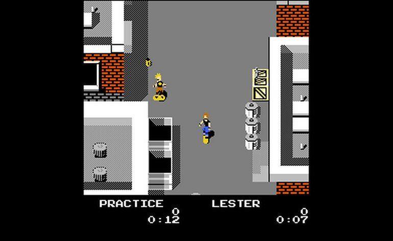 Skate Or Die For Nintendo Nes Skateboarding Game Released In 1988 The Video Games Museum Has Screenshots For Th Nintendo Nes Game Museum Video Game Museum