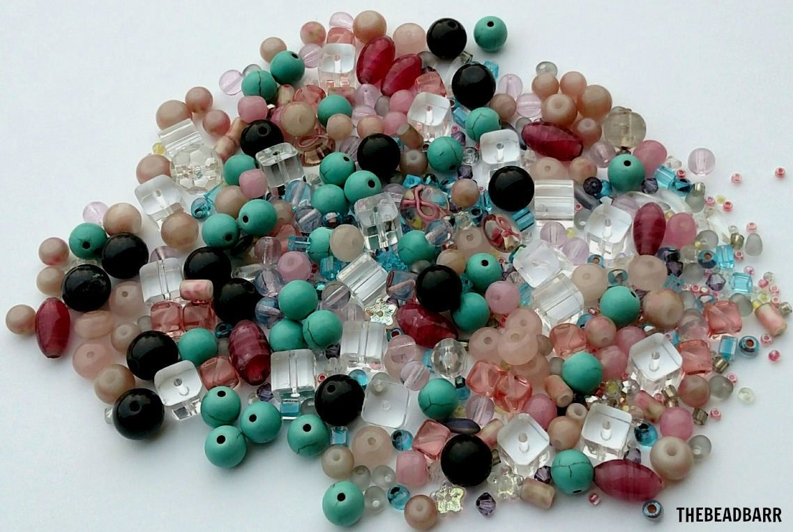 Mixed Gl Bead Lot 5oz Orted