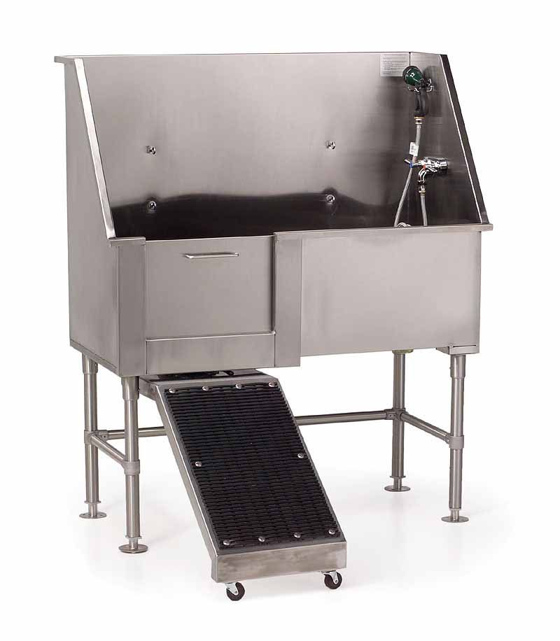 Dog Grooming Tubs And Sinks | Shor Line 4u0027 Wide Cat Condo