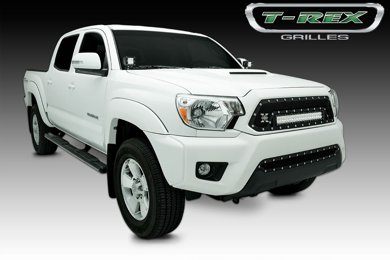 2012 2014 toyota tacoma torch series led light grille 1 20 led