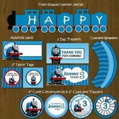 Free Printable Train Invitations Thomas the Train Printable