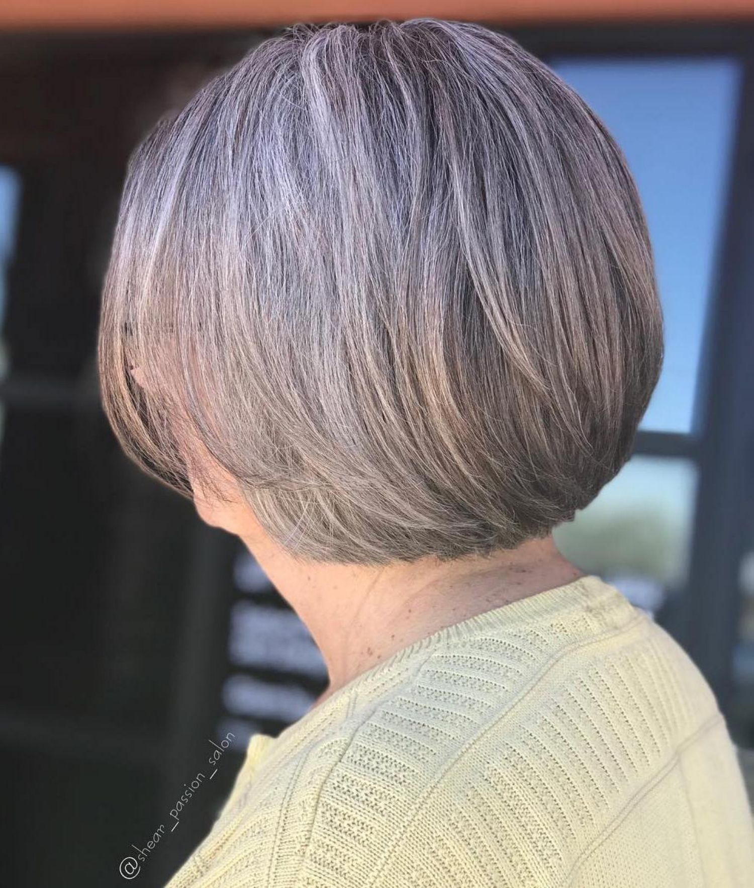Short Gray Bob For Older Women Cool Hairstyles Older Women Hairstyles Bob Hairstyles