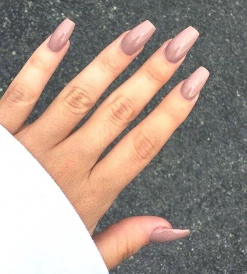 36 Tips To Beautify Hand With Acrylic Nail Design Acrylicnails Mauve Nails Simple Nails Acrylic Nail Designs