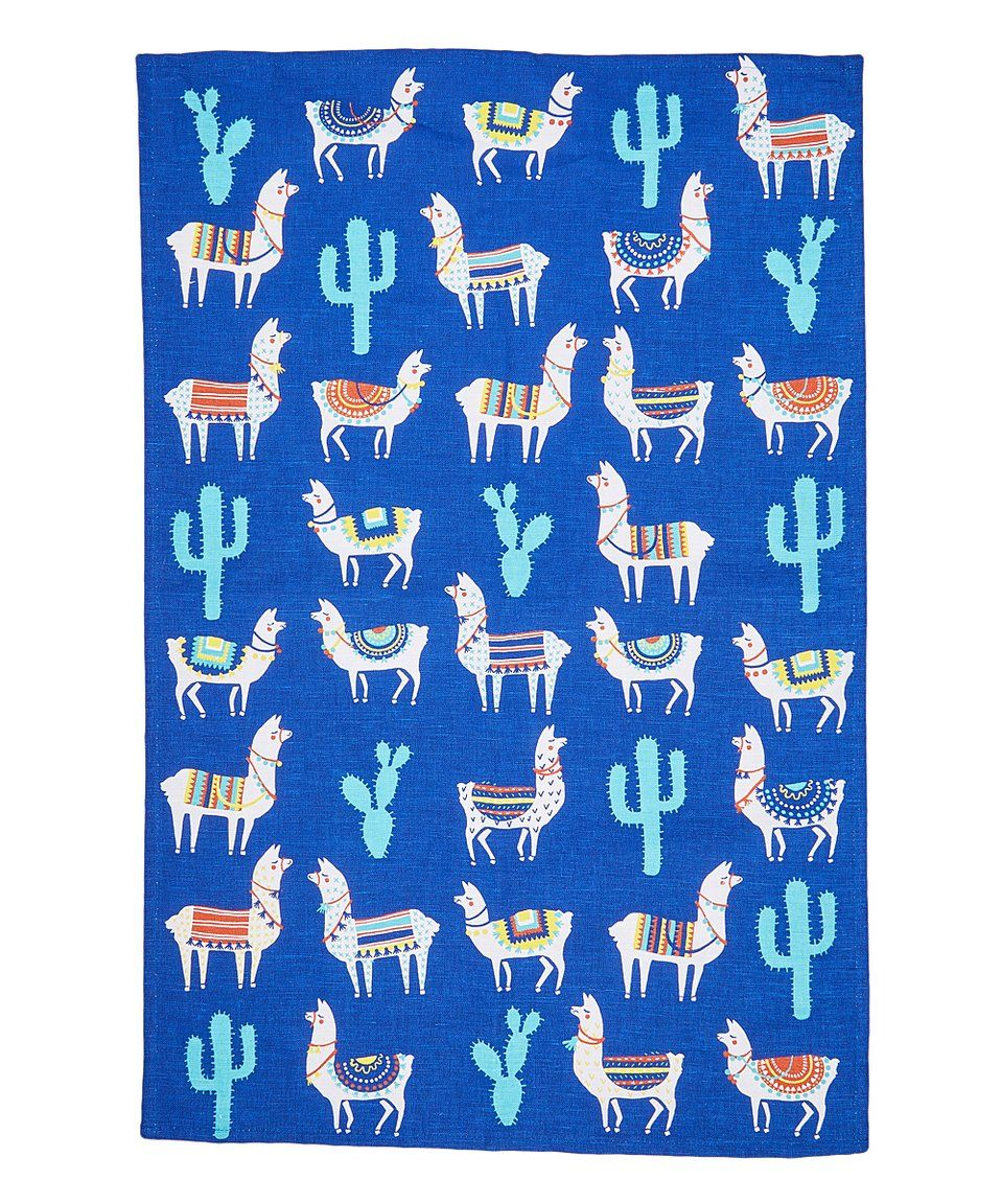 Take A Look At This Llama Linen Blend Dish Towel Today Dish