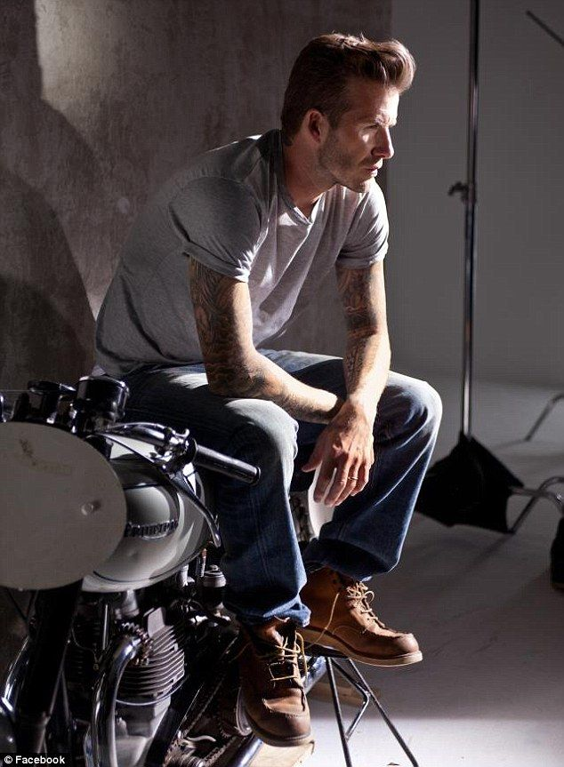 You've done this before! David Beckham shows off his ...