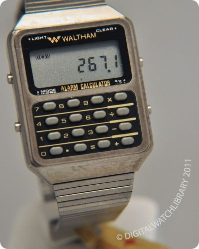 WALTHAM - Alarm Calculator - Calculator - Vintage Digital Watch -  Digital-Watch.com 3b77d8a2f4