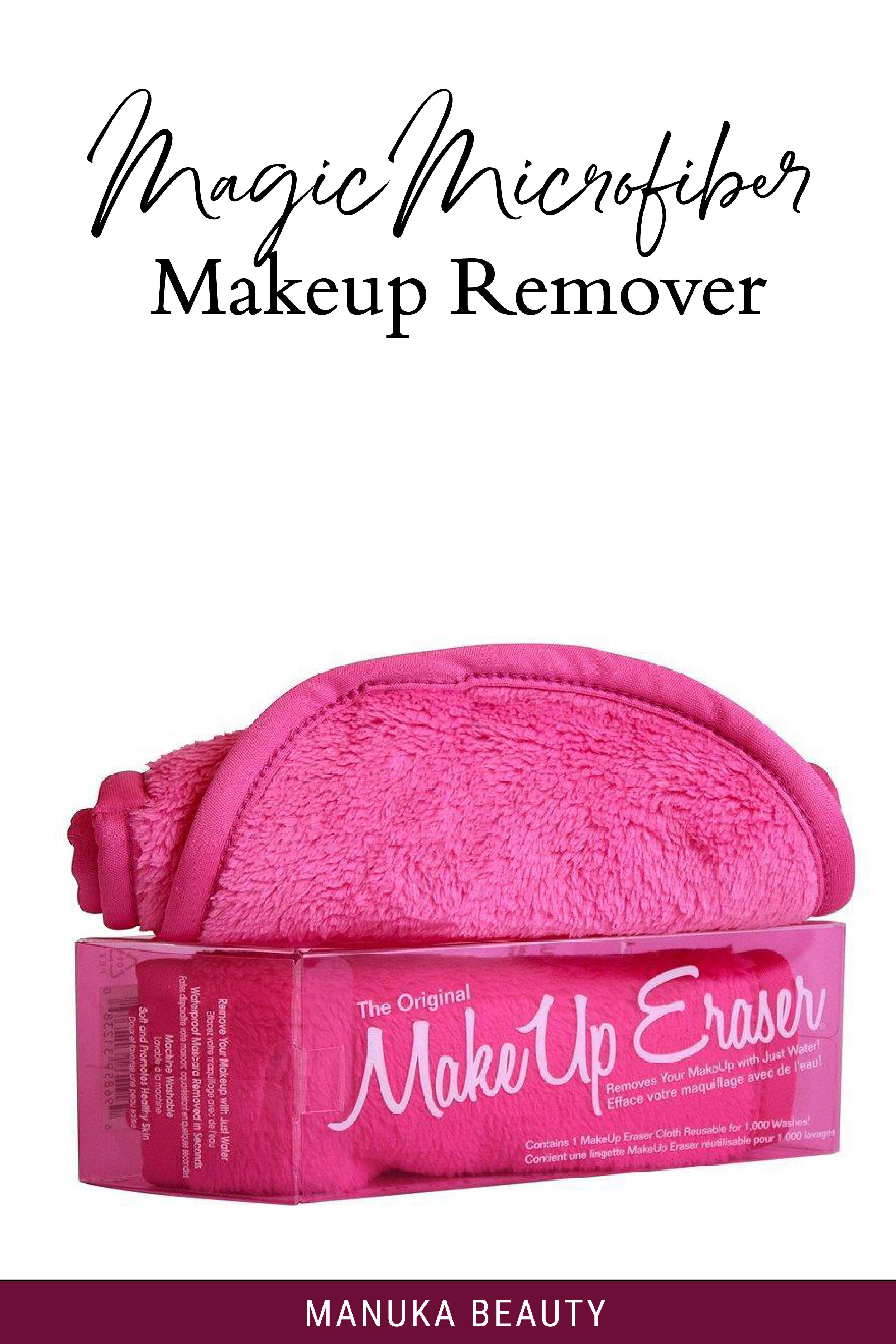 Magic Microfiber Makeup Remover Makeup remover, Makeup